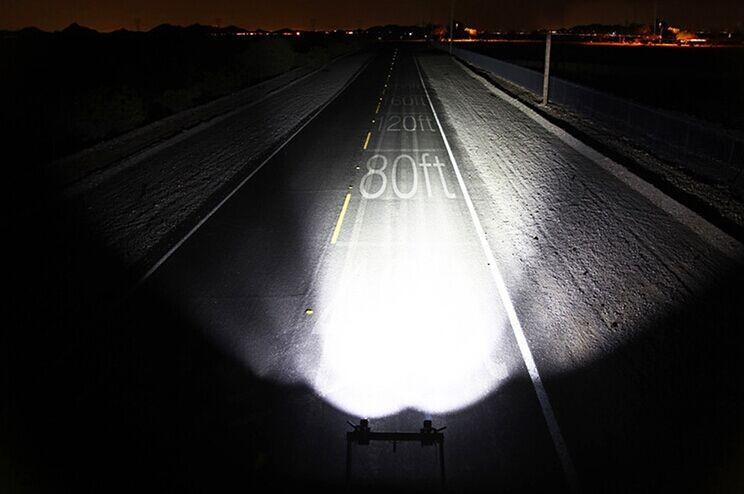 led越野射灯透镜射灯汽车灯泡前大灯16w改装灯顶灯中网射灯