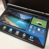 15.6寸新款埃尔法专车专用高清安卓吸顶显示器