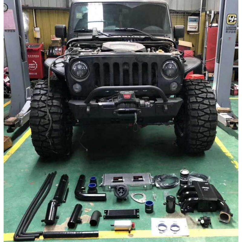Jeep牧马人加装HKS机械增压案例 (15)