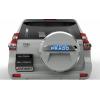 适用10-18新款丰田普拉多后备胎罩 备胎饰条