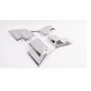 10-19款丰田普拉多尾灯框 霸道改装专用后尾灯装饰罩