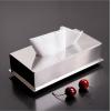 现代简约 镜面不锈钢纸巾盒