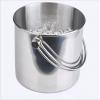 不锈钢双线提手冰桶